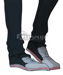 Devilman Crybaby Akira Fudo Black Cosplay Shoes