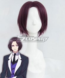 Devils and Realist Kevin Cecil Purple Cosplay Wig
