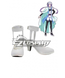 Devils and Realist Sytry Battleframe White Cosplay Shoes