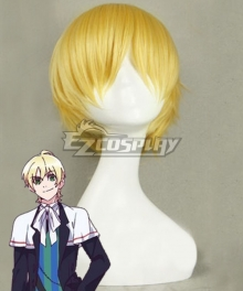 Devils and Realist William Twining Golden Cosplay Wig