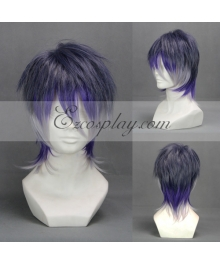 Diabolik Lovers More Blood Sakamaki Reiji Light Blue Cosplay Wig-303E