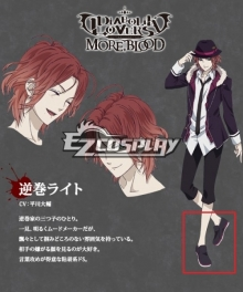 Diabolik Lovers More Blood Sakamaki Laito Black Cosplay Shoes