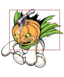 Digimon Adventure Pumpmon  Headgear  Helloween Cosplay Accessory