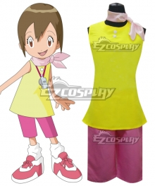 Digimon Adventure  Yagami Hikari Cosplay Costume