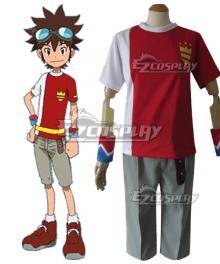 Digimon Xros Wars Taiki Kudou Cosplay Costume