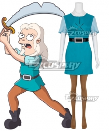 Disenchantment Bean Cosplay Costume