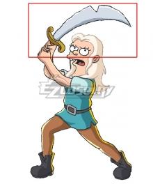 Disenchantment Bean Sword Cosplay Weapon Prop