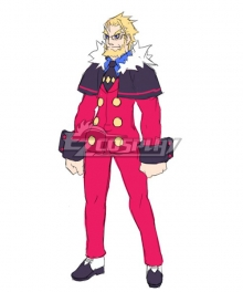 Disgaea 4: A Promise Unforgotten Axel Cosplay Costume