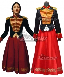 Disney 2018 Movie The Nutcracker And The Four Realms Clara Cosplay Costume