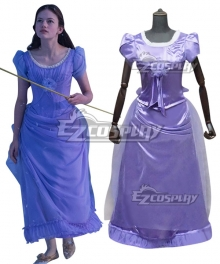 Disney 2018 Movie The Nutcracker And The Four Realms Clara Purple Dress Cosplay Costume