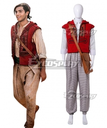 Disney 2019 Movie Aladdin Aladdin Cosplay Costume