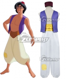 Disney Aladdin Aladdin Cosplay Costume - B Edition