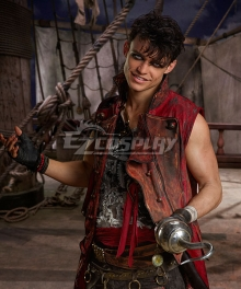 Disney Descendants 2 Harry Hook Pirate Cosplay Costume