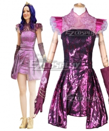 Disney Descendants 3 Mal Evening Dress Cosplay Costume