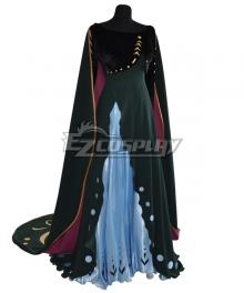 Disney Frozen 2 Anna Queen New Coronation Dress Cosplay Costume