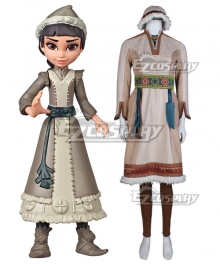 Disney Frozen 2 Frozen II Honeymaren Cosplay Costume