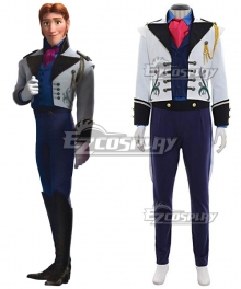 Disney Frozen Prince Hans Cosplay Costume