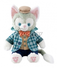 Disney Gelatoni Plaid Shirt Cosplay Costume