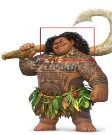 Disney Movie Moana Maui Black Cosplay Wig