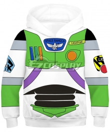 Disney Pixar Toy Story Buzz Lightyear Coat Hoodie Cosplay Costume - Kid Size
