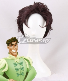Disney Princess And The Frog Prince Naveen Brown Cosplay Wig