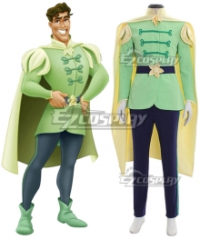 Disney Princess and the Frog Prince Naveen Cosplay Costume