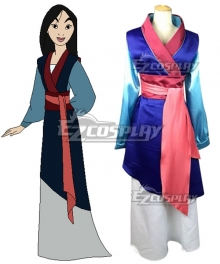 Disney Princess Hua Mulan Cosplay Costume