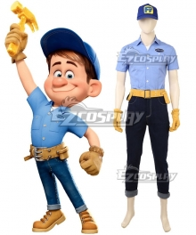 Disney Ralph Breaks the Internet: Wreck-It Ralph 2 Fix-It Felix Cosplay Costume