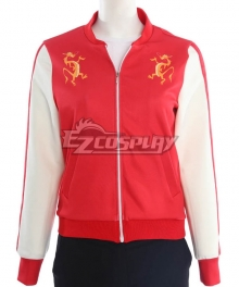 Disney Ralph Breaks The Internet: Wreck-It Ralph 2 Princess Hua Mulan Baseball Coat Cosplay Costume