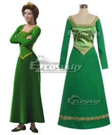 DreamWorks Shrek Princess Fiona Cosplay Costume