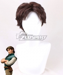Disney Tangled Flynn Rider Brown Cosplay Wig
