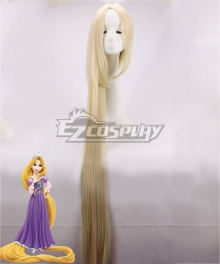 Disney Tangled Rapunzel Princess Gold Cosplay Wig