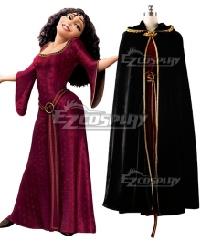 Disney Tangled Tangled Mother Gothel Cosplay Costume