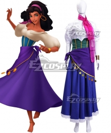 Disney The Hunchback of Notre Dame Esmeralda Heidi Mollenhauer Cosplay Costume