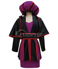Disney The Hunchback Of Notre Dame Female Frollo Cosplay Costume