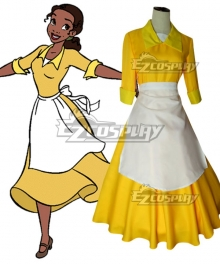 Disney The Princess And The Frog Princess Tiana Cosplay Costume