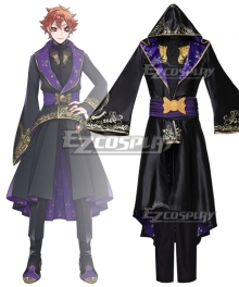 Disney: Twisted-Wonderland Riddle Robes Uniform Cosplay Costume