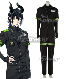 Disney Twisted Wonderland Diasomnia Malleus Draconia Sports Suits Cosplay Costume