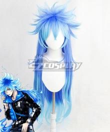 Disney Twisted Wonderland Idia Shroud Blue Cosplay Wig