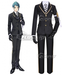 Disney Twisted Wonderland Octavinelle Floyd Leech Uniform Cosplay Costume