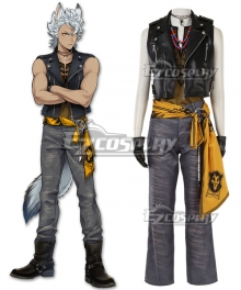 Disney Twisted Wonderland Savanaclaw Jack Howl Show Cosplay Costume