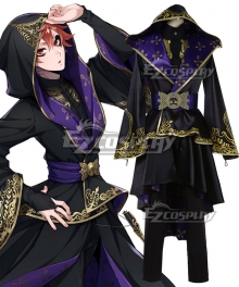 Disney Twisted Wonderland Riddle Rosehearts Trey Clover Deuce Spade Epel Felmier Floyd Leech Cater Diamond Summoning Robes Cosplay Costume