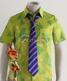 Disney Zootopia Nicholas P. Wilde Fox Nick Tie Cosplay Accessory Prop