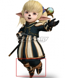 Dissidia Final Fantasy NT FF11 Shantotto Brown Cosplay Shoes