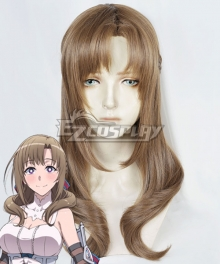 Do You Love Your Mom and Her Two-Hit Multi-Target Attacks? Mamako Oosuki Brown Cosplay Wig
