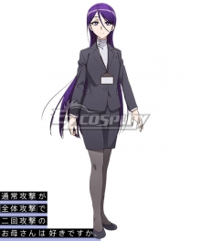 Do You Love Your Mom and Her Two-Hit Multi-Target Attacks? Shirase Cosplay Costume