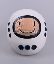 Doctor Who Emojibot Helmet Halloween Cosplay Accessory Prop