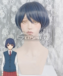 Domestic Girlfriend Domesutikku Na Kanojo Rui Tachibana Blue Cosplay Wig