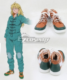 Dorohedoro Nikaido Orange Cosplay Shoes