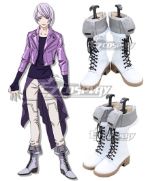 Double Decker! Doug & Kirill Kirill Vrubel White Shoes Cosplay Boots